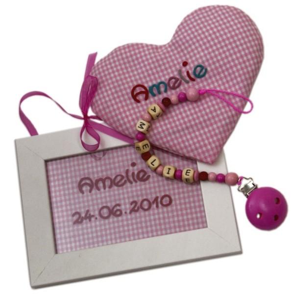 """Geschenkeset """"Kinderzimmer"""" rosa"""