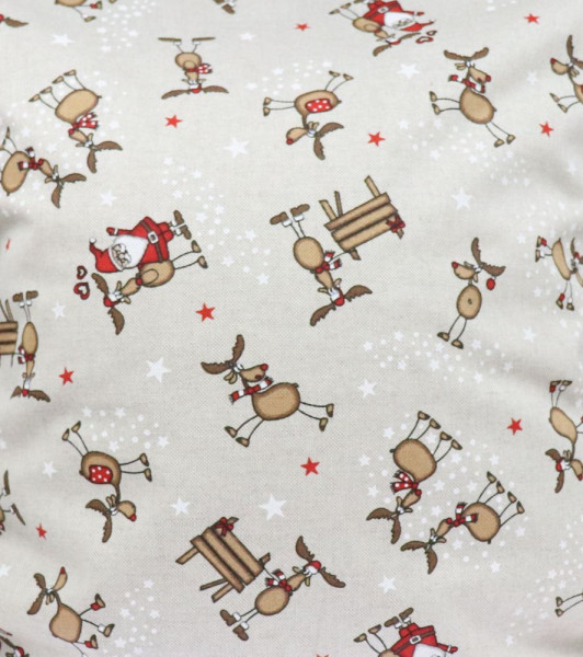Utensilo Weihnachten mit Namen - Stoffkörbchen