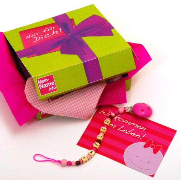 Geschenkebox inklusive Karte