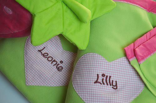 haba erdbeere mit fleecedecke kinderdecke mit namen mein. Black Bedroom Furniture Sets. Home Design Ideas