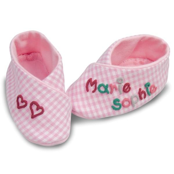 Babyschuhe mit Namen