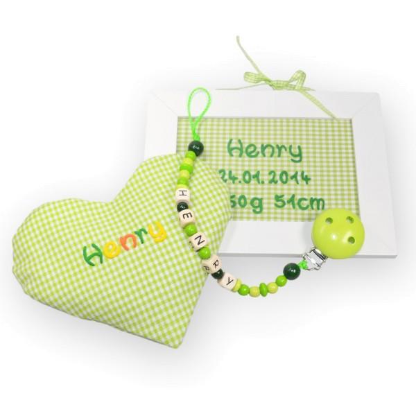 """Geschenkeset """"Kinderzimmer"""" grün"""