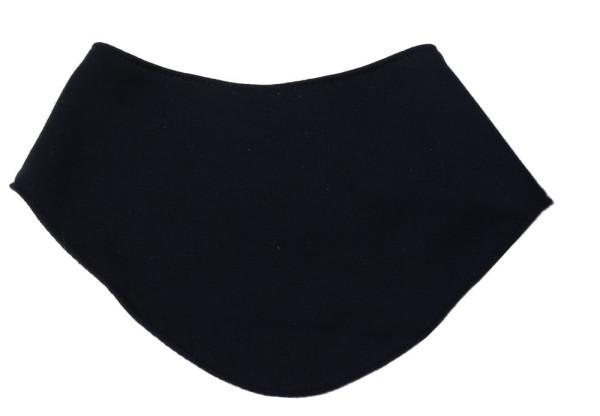 Halstuch mit Druckknöpfen uni für Kleinkinder