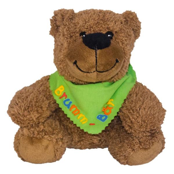 Teddybär 16cm mit Namen am Halstuch