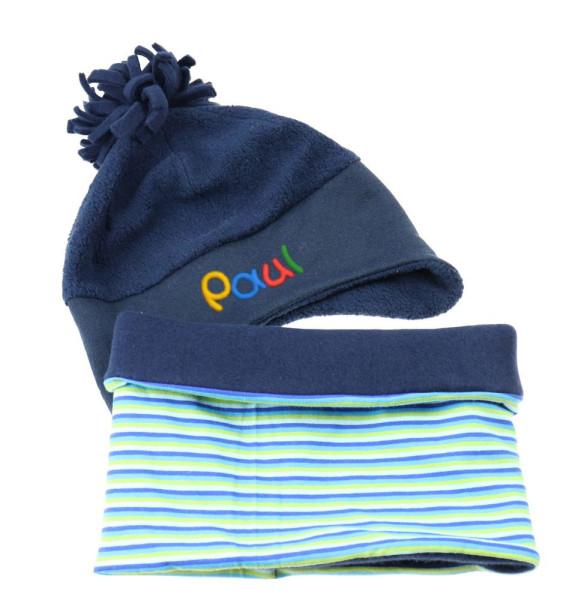 winterset-muetze-loop-fuer-jungen-blau-mit-namen-fleece