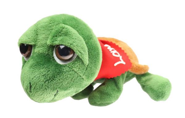 Schildkröte 25cm mit Namen am Halstuch